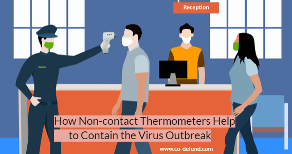 Non contact thermometers