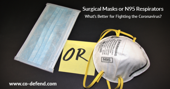 Surgical Masks or N95 Respirators